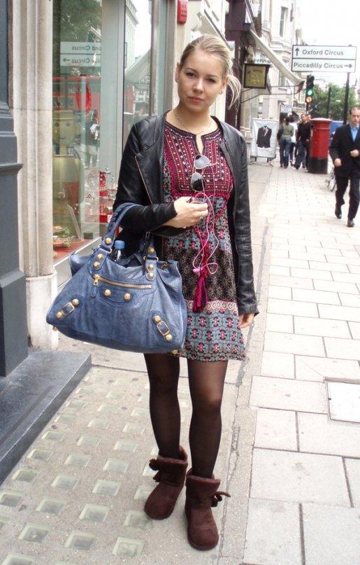 уличная мода: Лондон.